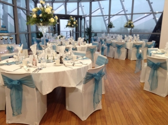 Reception set up in Observatory