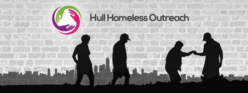 Banner DEEP BUSINESS CENTRE NAMES 2017 CHARITY AS HULL HOMELESS OUTREACH
