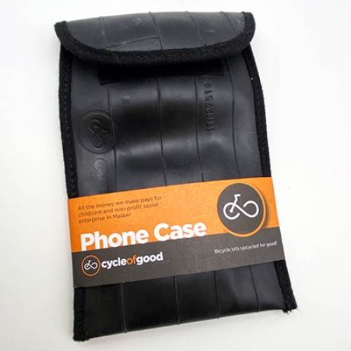 Upcycled phone case