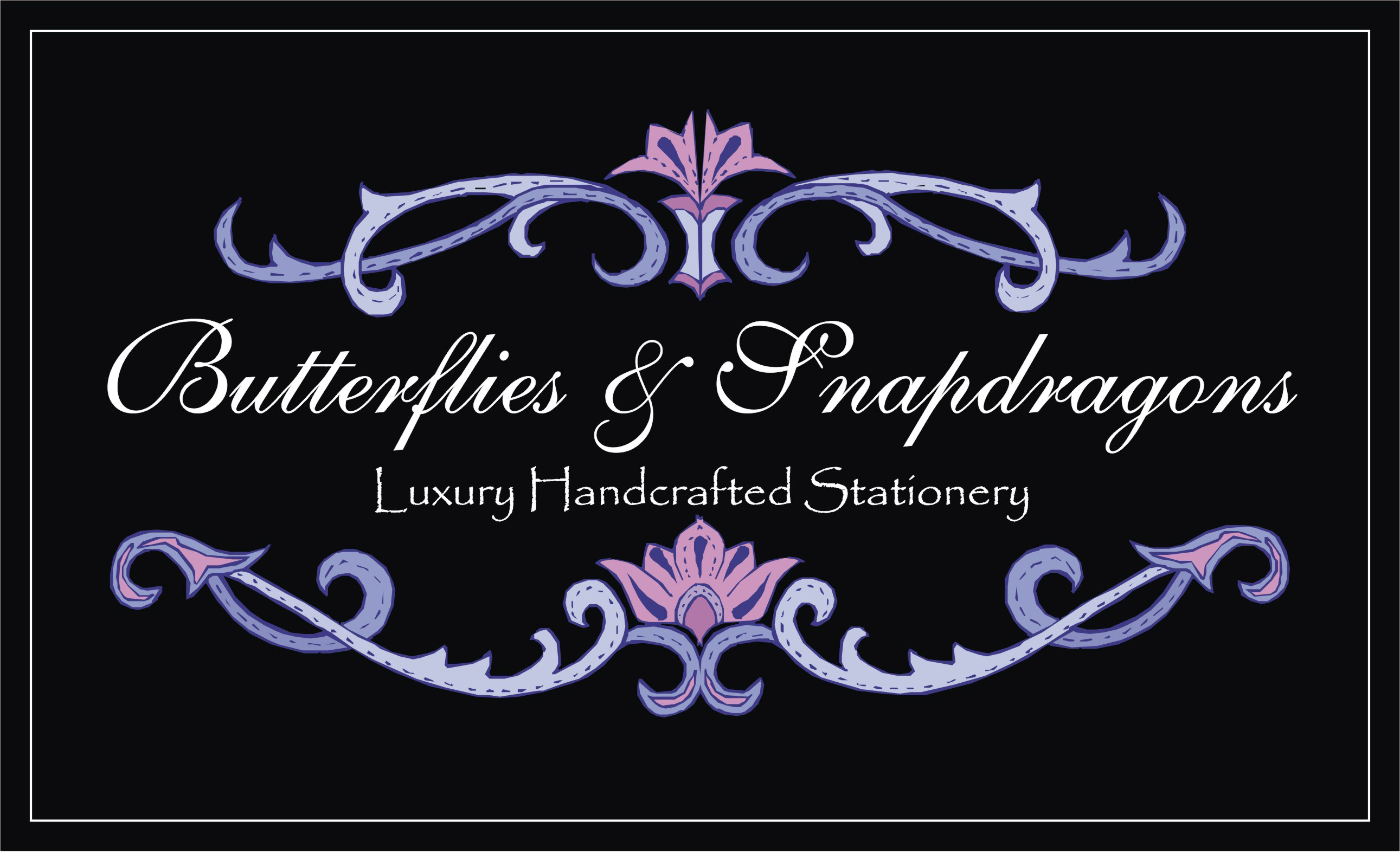 Butterflies and Snapdragons logo