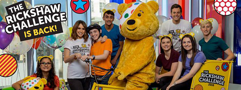Banner BBC CHILDREN IN NEED COMES TO HULL
